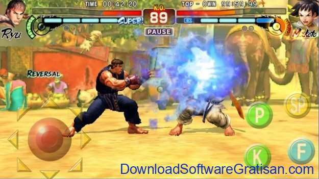 Game Pertarungan Android Street Fighter IV Champion Edition
