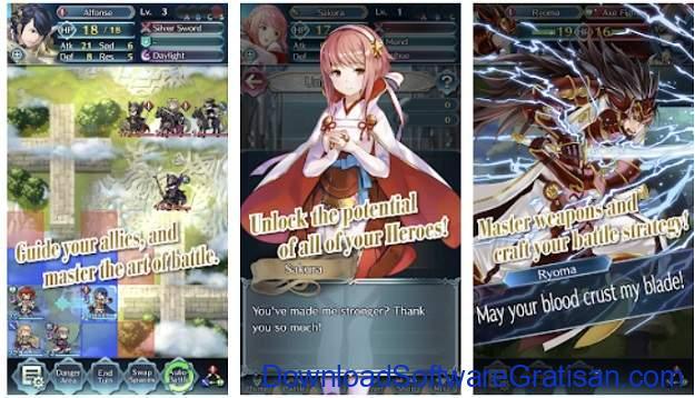 Game Strategi Offline Terbaik untuk Android - Fire Emblem Heroes