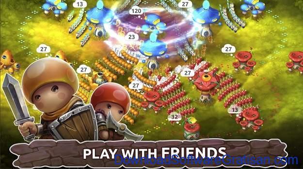 Game Strategi Offline Terbaik untuk Android - Mushroom Wars