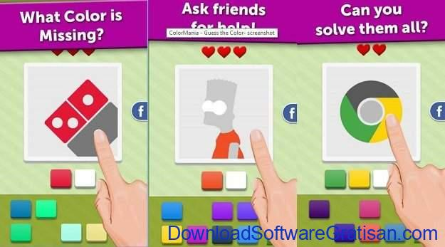 Game Tebak Gambar Terbaik Android & iOS ColorMania - Guess the Color