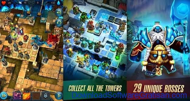 Game menara pertahanan terbaik untuk Android Defenders 2 Tower Defense CCG