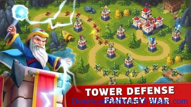 Game menara pertahanan terbaik untuk Android Fantasy Tower