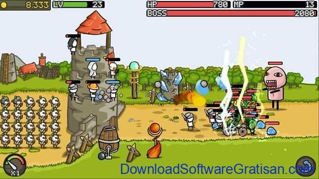 Game menara pertahanan terbaik untuk Android Grow Castle