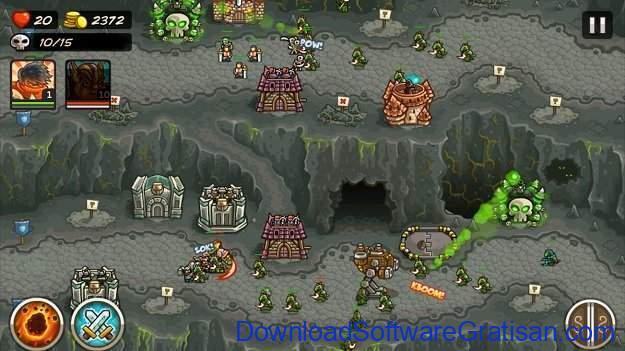 Game menara pertahanan terbaik untuk Android Kingdom Rush