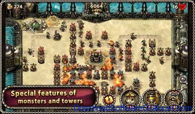 Game menara pertahanan terbaik untuk Android Myth Defense