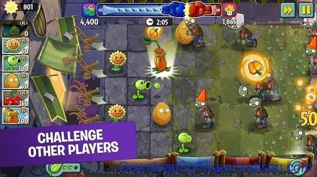 Game menara pertahanan terbaik untuk Android Plants vs Zombies