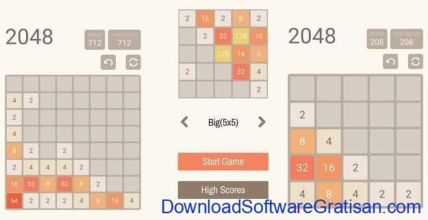 Game puzzle Terbaik untuk Android 2048