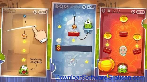 Game puzzle Terbaik untuk Android Cut the Rope