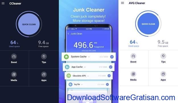 Hal yang Dilakukan Salah di Perangkat Android - Menggunakan apps pembersih untuk menghapus file sampah