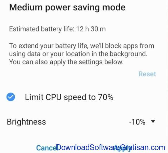 Hal yang Dilakukan Salah di Perangkat Android - Menjadikan Mode Penghemat Baterai selalu aktif