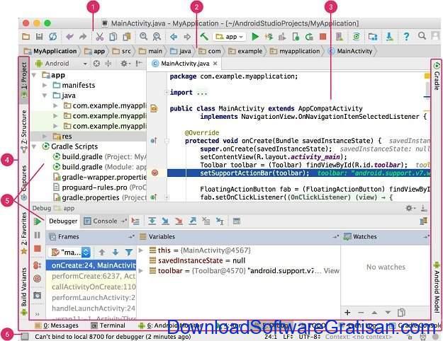 IDE Gratis untuk Java Coding, Development & Programming Android Studio