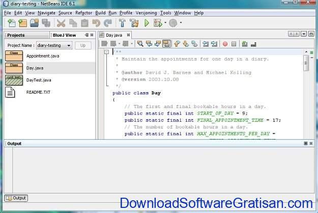 IDE Gratis untuk Java Coding, Development & Programming BlueJ