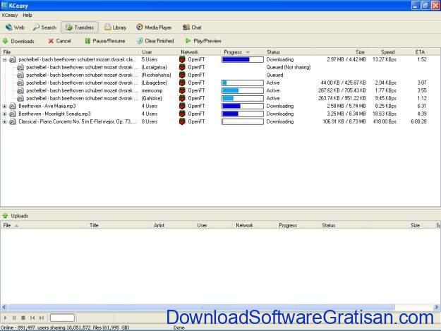 Aplikasi Peer-to-Peer (P2P) Gratis Terbaik untuk Sharing File KCeasy