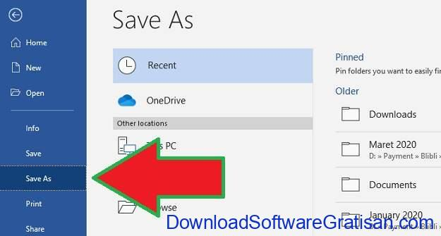 Konversi Dokumen ke PDF Menggunakan Microsoft Word - 2