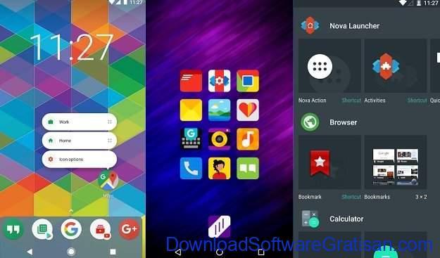 Launcher Android Terkeren Nova Launcher