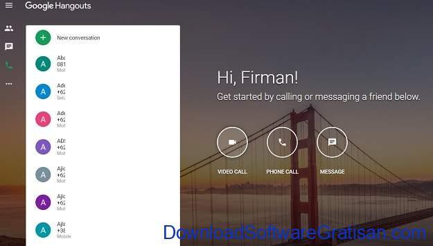 Layanan Panggilan Konferensi (Conference Call) Gratis Terbaik Google Hangouts