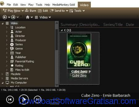 Aplikasi Katalog Film Gratis Terbaik untuk Windows MediaMonkey