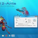 Menambahkan Semut yang Berjalan di Layar Desktop dengan 12-Ants