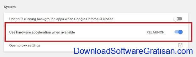 Mengatasi Pengunaan 100% CPU Saat Memutar Youtube di Chrome Langkah 3