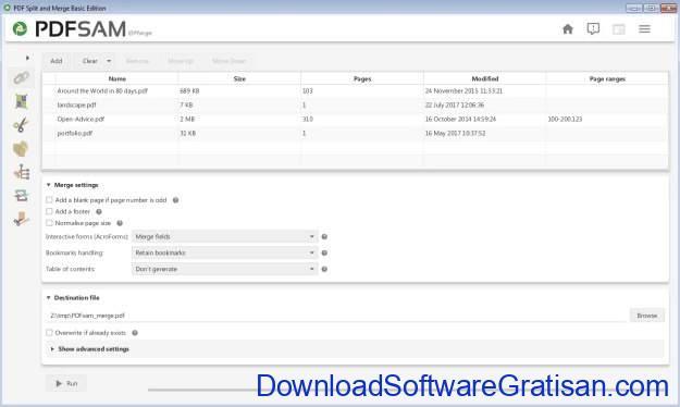 Menggabungkan File PDF Tanpa Acrobat Reader - pdfsam