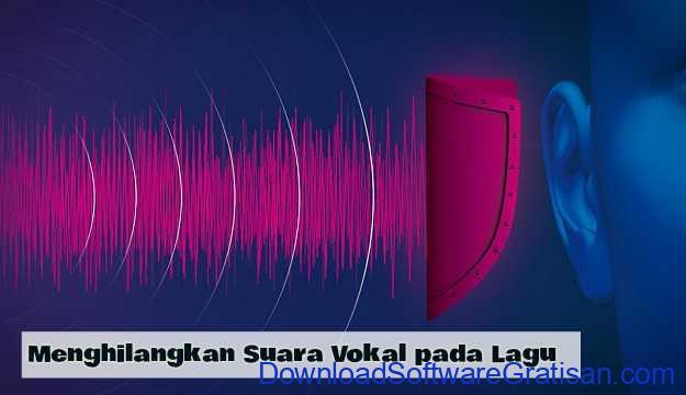 Aplikasi untuk Menghilangkan Suara Vokal pada Lagu