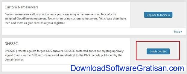 Mengkonfigurasi DNSSEC di DNS Cloudflare dan IDwebhost - Step 1