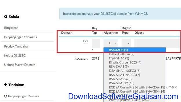 Mengkonfigurasi DNSSEC di DNS Cloudflare dan IDwebhost - Step 3