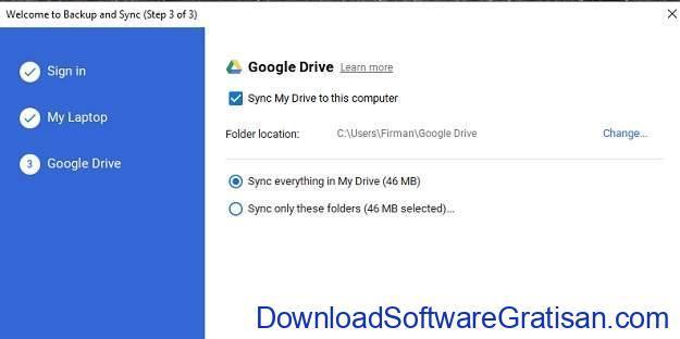 Menyinkronkan Folder Antar Komputer Melalui Internet - ss4