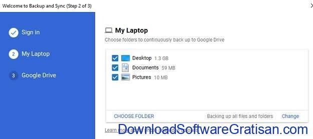 Menyinkronkan Folder Antar Komputer Melalui Internet - ss5