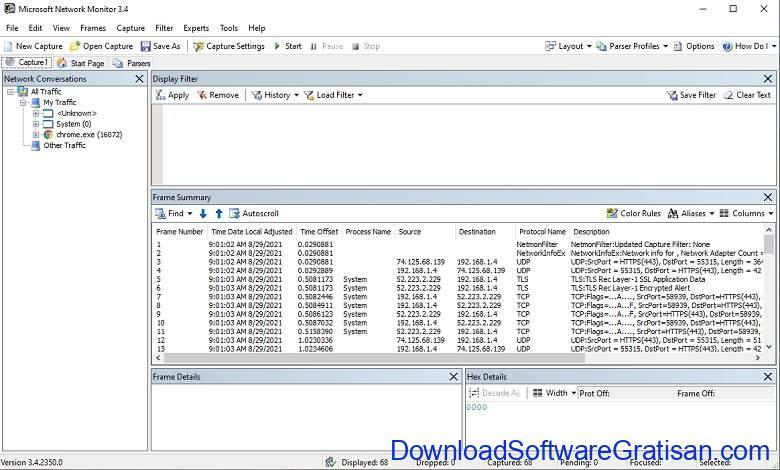 Microsoft Network Monitor