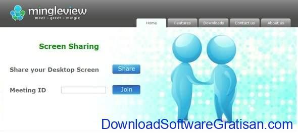 Aplikasi Screen Sharing MingleView