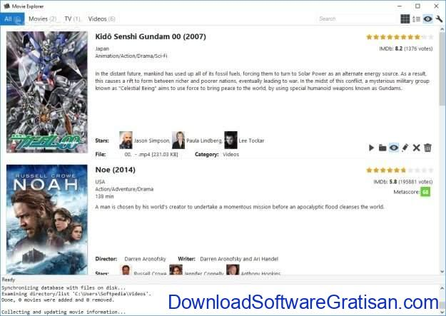 Aplikasi Katalog Film Gratis Terbaik untuk Windows Movie Explorer