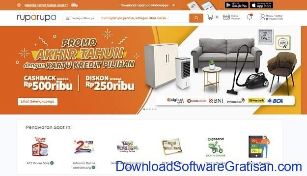 Online Shop Termurah Terlengkap & Terbaik di Indonesia - Ruparupa