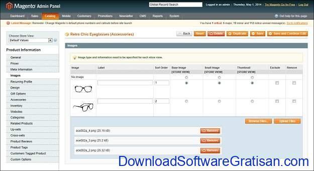 Platform Aplikasi E-commerce Gratis Magento Open Source
