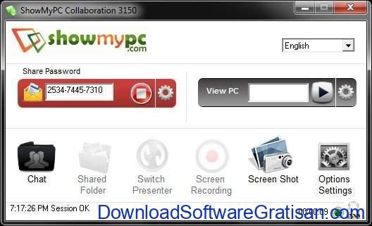 Aplikasi Screen Sharing ShowMyPC SS