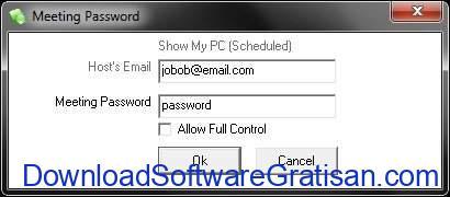 Aplikasi Screen Sharing ShowMyPC login