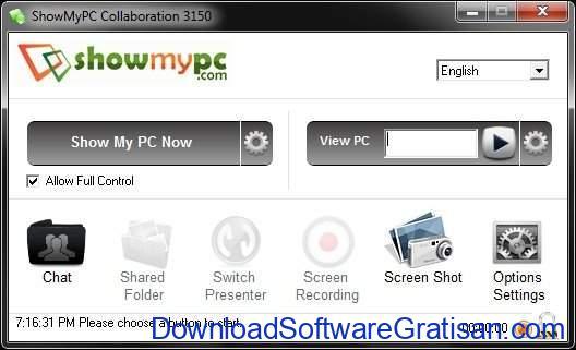 Aplikasi Screen Sharing ShowMyPC