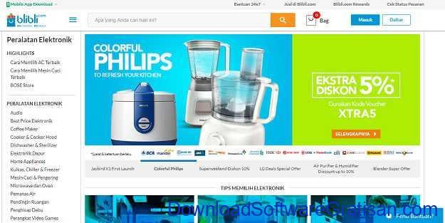 Situs Belanja Online Terbaik di Indonesia Blibli