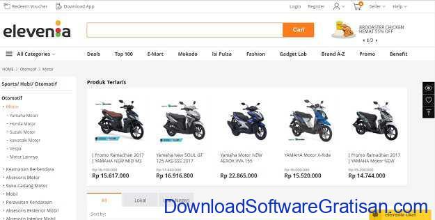 Situs Belanja Online Terbaik di Indonesia Elevania