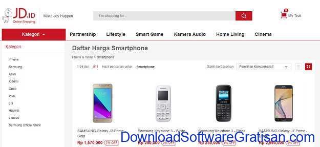 Situs Belanja Online Terbaik di Indonesia JDid