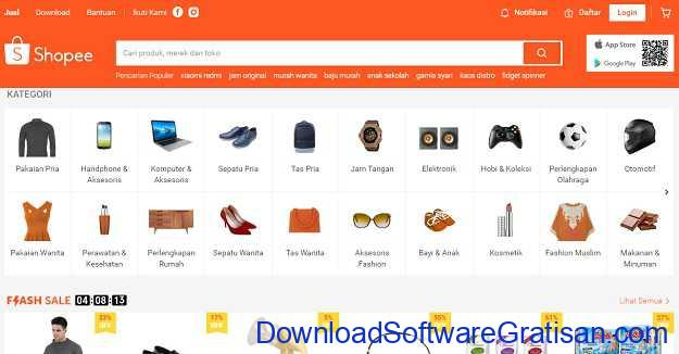 Situs Belanja Online Terbaik di Indonesia Shopee