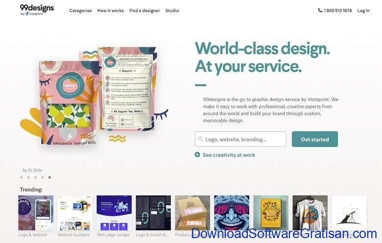 Situs Freelance Terbaik Desainer & Programmer - 99designs