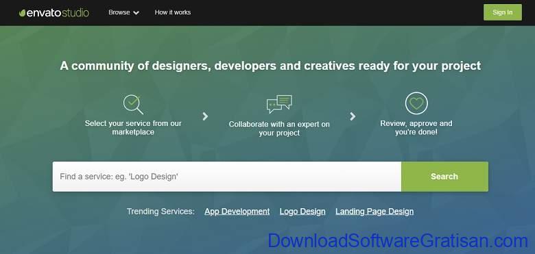 Situs Freelance Terbaik Desainer & Programmer - Envato Studio