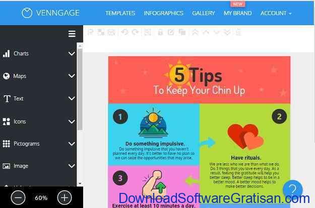 Situs Online Terbaik untuk Membuat Infografis Gratis Venngage