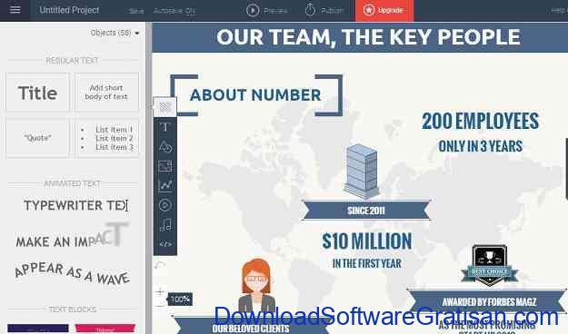 Situs Online Terbaik untuk Membuat Infografis Gratis Visme