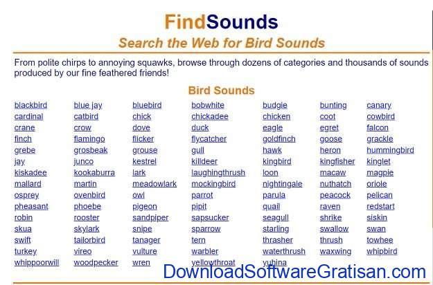 Situs Terbaik untuk Download Efek Suara atau Sound Effects Gratis FindSounds