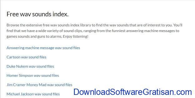 Situs Terbaik untuk Download Efek Suara atau Sound Effects Gratis TalkingWav