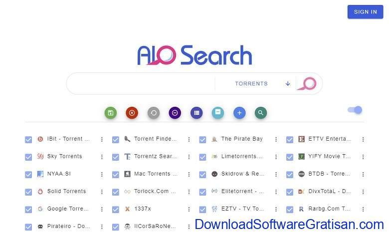 Situs Torrent Terbaik EZTV AIO Search