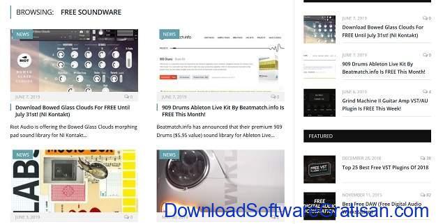 Situs download sampel musik gratis terbaik Bedroom Producers Blog Sample Archive