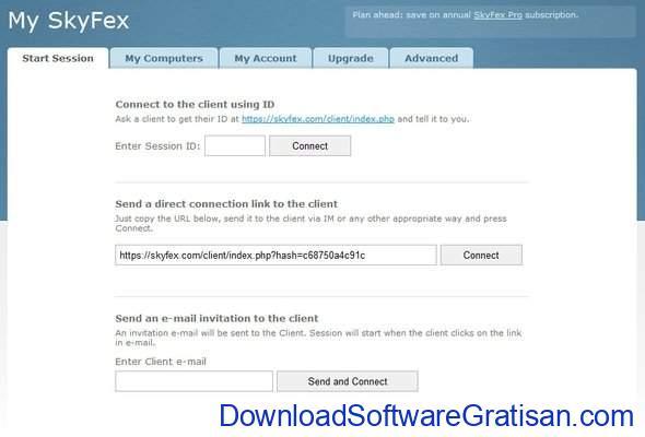 Aplikasi Screen Sharing SkyFex